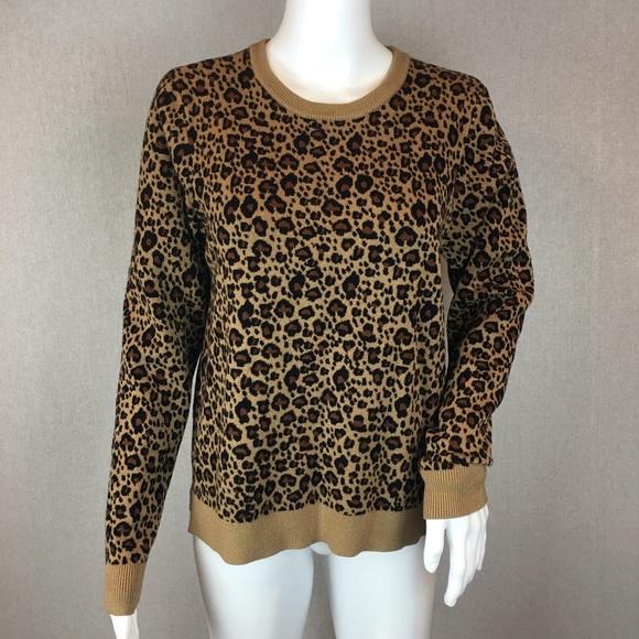 5320466becd7 Philosophy Sweater Size Large Animal Print. M_5b41f74545c8b36e0a0c5e24
